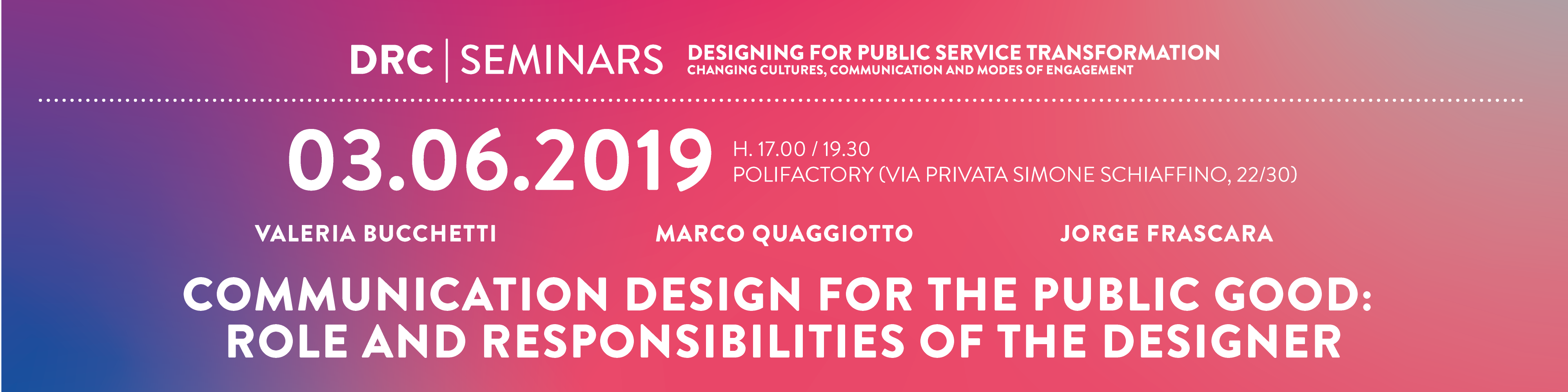 Drc19 Communication Design For The Public Good Phd Design